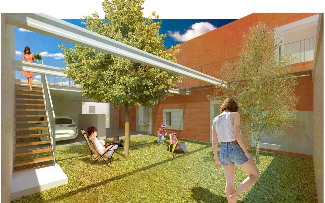 x De garatge a jardí x